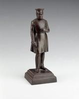 Statuette based on Drake's design for the monument to King Friedrich Wilhelm III in Berlin's Tiergarten.