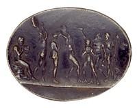 Bacchanalian Procession, Royal Prussian Iron Foundry, Gleiwitz, iron