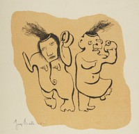 Happy Birthday to You, George Biddle, Printed by Roberto Bulla, lithograph