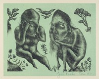 Oh What a Beautiful Morning, George Biddle, Printed by Roberto Bulla, lithograph