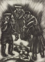 Katia Is Dead, George Biddle, lithograph