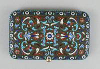 Card Case, Russia, enamel