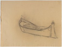 Boat, Lucille Douglass, charcoal