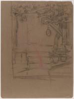 Landscape Detail, Lucille Douglass, charcoal