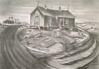 Air-motor, Merritt Mauzey, lithograph