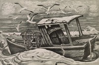 Wings of Morn, Merritt Mauzey, lithograph