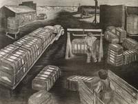 Public Weigher, Merritt Mauzey, lithograph