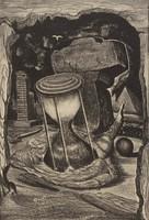 Along the Way, Merritt Mauzey, lithograph