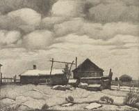 High Noon, Ed Eisenlohr, lithograph