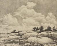 Sunlit Acres, Ed Eisenlohr, lithograph