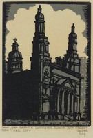St. Jean Baptiste, Lucy Jane Salter, woodcut