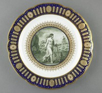 Standing Man and Seated Woman with Eggs, Derby Porcelain Manufactory, William Duesbury & Co., ceramic