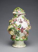Potpourri Jar, Bow porcelain factory, soft-paste porcelain