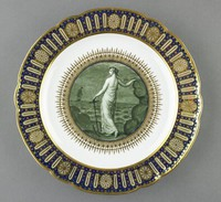 Plate from a service commissioned by William, Duke of Clarence (later King William IV)
