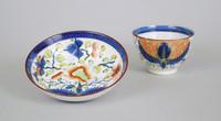 Cup and Saucer, Pennsylvania, ceramic