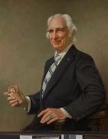 Portrait of Richard F. Howard, William W. S. Wilson, oil on board