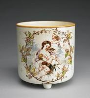 Jardiniere, Émile Aubert Lessore, Wedgwood, lead-glazed earthenware (creamware)