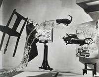 Dali Atomicus, Philippe Halsman, gelatin silver print