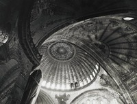 Hagia Sophia, Istanbul, George Everard Kidder Smith, gelatin silver print