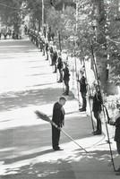 Inspecting Guards, Teheran, Elliott Erwitt, gelatin silver print
