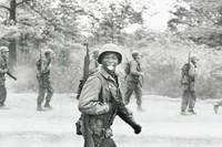 Soldier, New Jersey, Elliott Erwitt, gelatin silver print