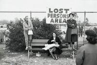 Lost Person, Pasadena, Elliott Erwitt, gelatin silver print