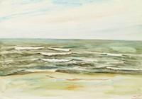 Jersey Coast, Reginald Marsh, watercolor