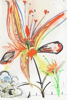 Lei, Salvador Dali, color lithograph