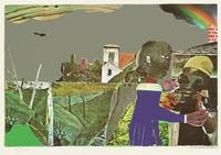 Tidings, Romare Bearden, screenprint
