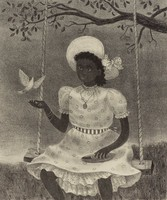 The Dove, Doris Lee, lithograph