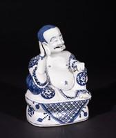 Budai, China, porcelain with underglaze blue decoration