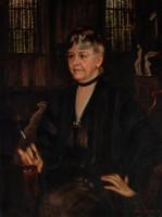 Miss Hannah Elliott, Arthur Stewart, oil on canvas