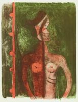 Torse de jeune fille, Rufino Tamayo, lithograph