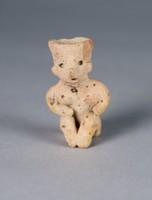 Seated Female Figure, Nayarit culture, Chinesco culture, Pre-Columbian, earthenware