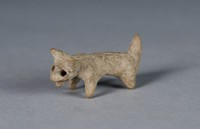 Dog, Nayarit culture, Chinesco culture, Pre-Columbian, earthenware