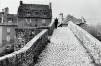 Ancient Bridge, Mende, Ed Willis Barnett, black and white photograph