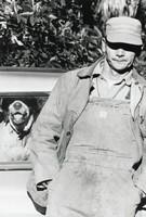 Man and Dog / South Carolina, Elliott Erwitt, photograph