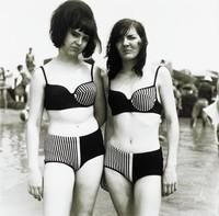 Two Girls In Matching Bathing Suits, Diane Arbus, gelatin silver print