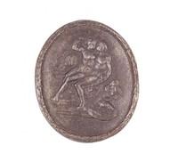 Venus and Adonis, Royal Prussian Iron Foundry, Gleiwitz, cast iron