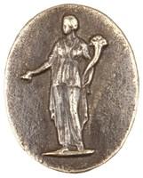 Abundantia, Royal Prussian Iron Foundry, Gleiwitz, cast iron