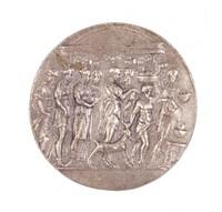 Procession to Sacrificial Altar, Royal Prussian Iron Foundry, Gleiwitz, cast iron