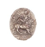 Venus Riding a Lion, Royal Prussian Iron Foundry, Gleiwitz, cast iron