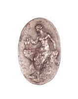Female Figure with Amphora, Royal Prussian Iron Foundry, Gleiwitz, cast iron