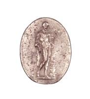 Mercury, Royal Prussian Iron Foundry, Gleiwitz, cast iron