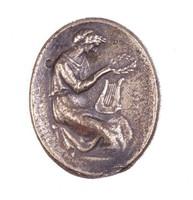 Erato (?), Royal Prussian Iron Foundry, Gleiwitz, cast iron