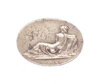 Reclining Hermaphrodite, Royal Prussian Iron Foundry, Gleiwitz, cast iron