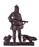 Hunter with Dog, Buderus Foundry, cast iron
