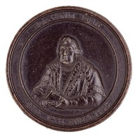 Martin Luther (1483-1546), 300 Years of the Reformation, Royal Prussian Iron Foundries, cast iron
