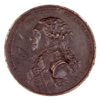 Obverse: Bust in profile left.