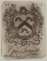 Book Plate, Paul Revere, engraving